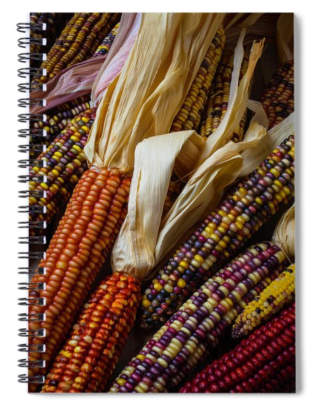 Pile Of Indian Corn Spiral Notebook