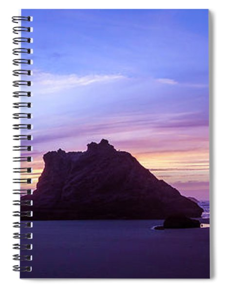Pillars Of Bandon Spiral Notebook