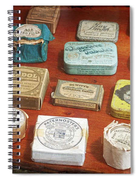Pills, Powders And Ointments Spiral Notebook
