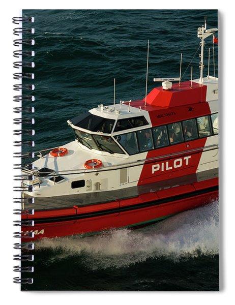 Pilot Boat Wellington Spiral Notebook