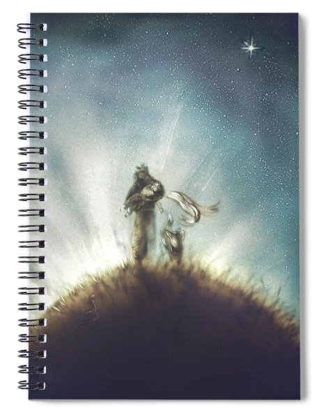 Pilot, Little Prince And Fox Spiral Notebook