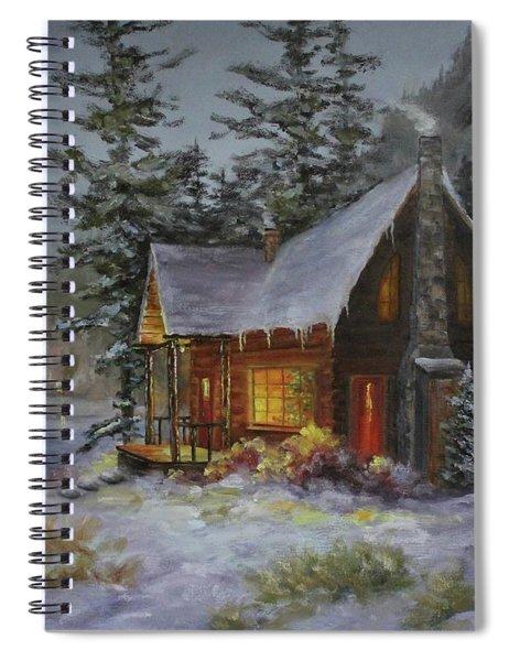 Pine Cove Cabin Spiral Notebook