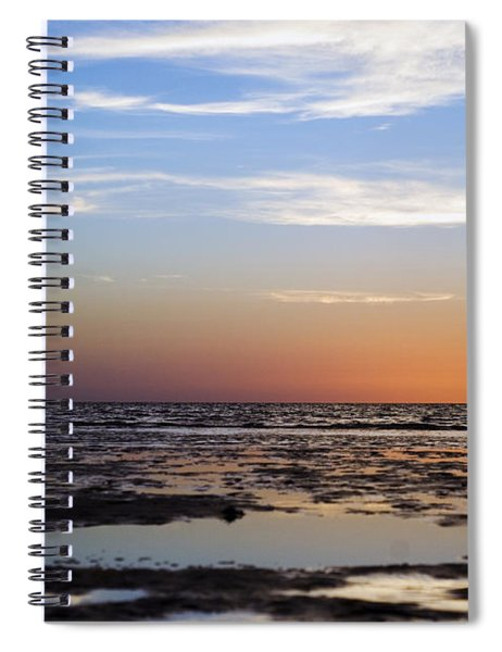 Pine Island Sunset Spiral Notebook