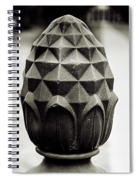 Pineapple, Oak Alley, Vacherie, Louisiana Spiral Notebook