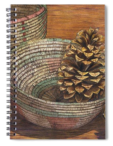 Pinecones Spiral Notebook
