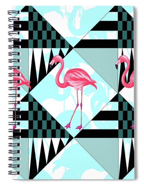 Ping Flamingo Spiral Notebook