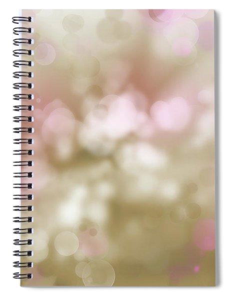 Pink And Brown Circles 1 Spiral Notebook