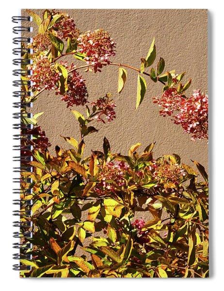 Pink Autumn Spiral Notebook