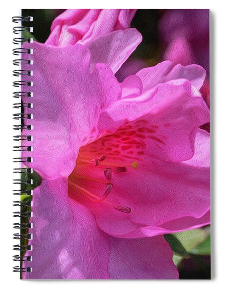 Pink Azalea Spiral Notebook