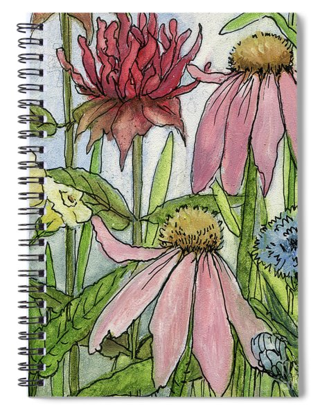 Pink Coneflower Spiral Notebook