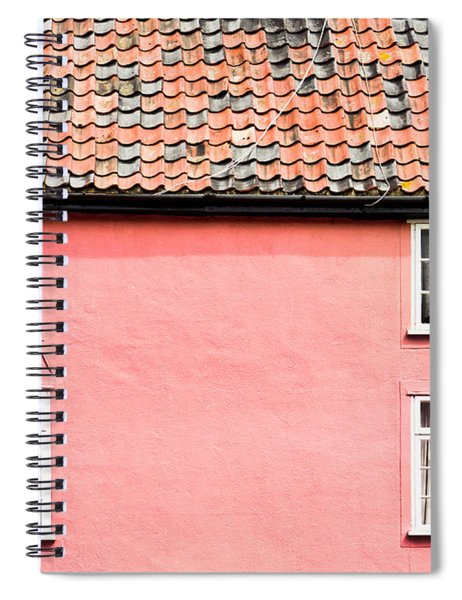 Pink Cottage Spiral Notebook