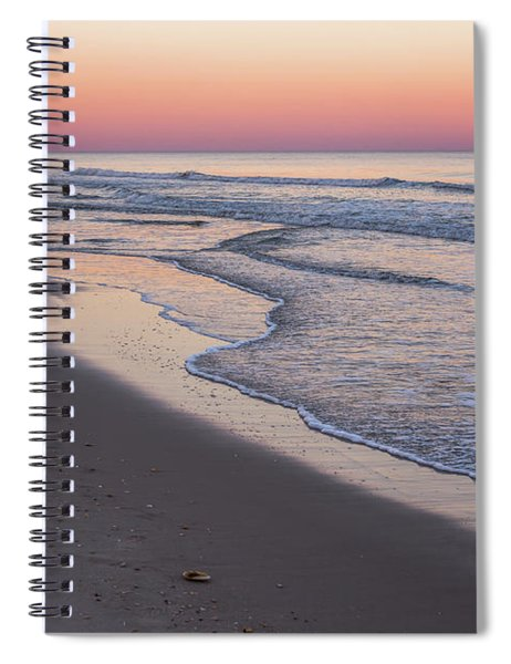 Pink Glow Seaside New Jersey 2017 Spiral Notebook