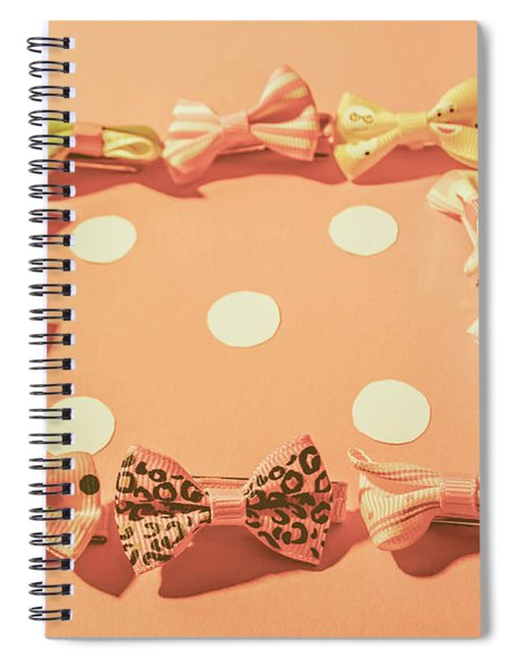 Pink Pastel Fashion Celebration Spiral Notebook