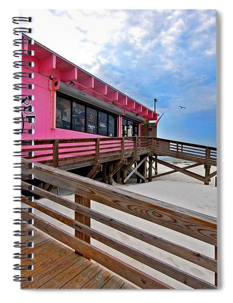Pink Pony Spiral Notebook