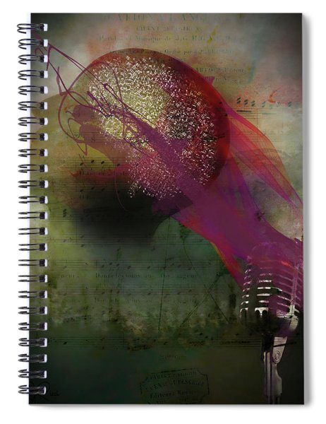 Pink Song Spiral Notebook
