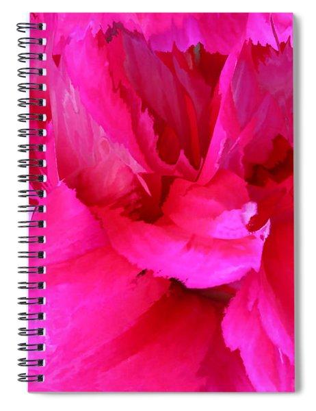 Pink Splash Spiral Notebook