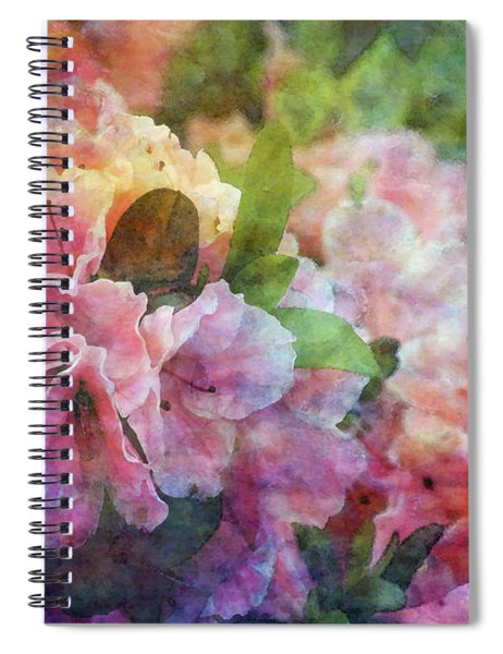 Pink With White Frills 1503 Idp_3 Spiral Notebook