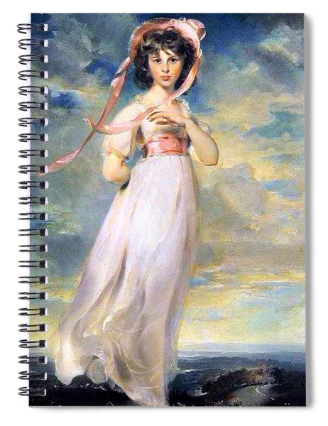 Pinkie Spiral Notebook