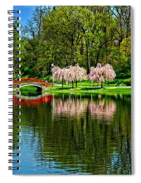 Pinks And Reds Spiral Notebook