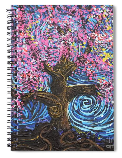 Pinky Tree Spiral Notebook