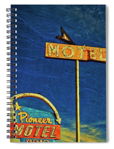 Pioneer Motel, Albuquerque, New Mexico Spiral Notebook