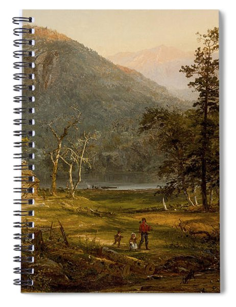 Pioneer's Home Eagle Cliff  White Mountains Spiral Notebook