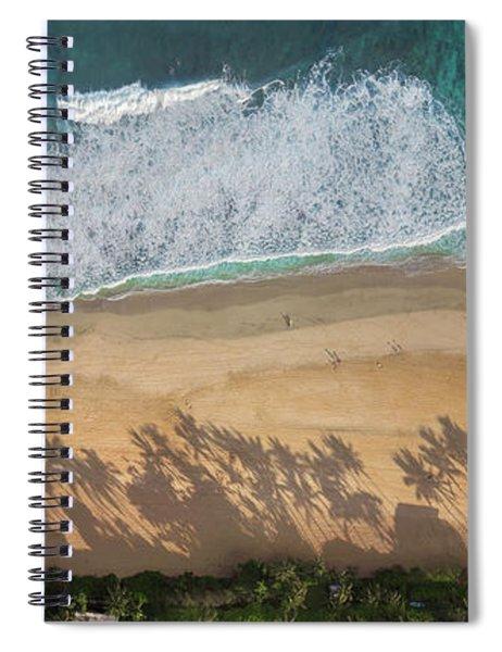 Pipeline Palms Spiral Notebook