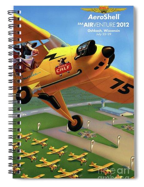 Piper Aircraft Poster  Spiral Notebook