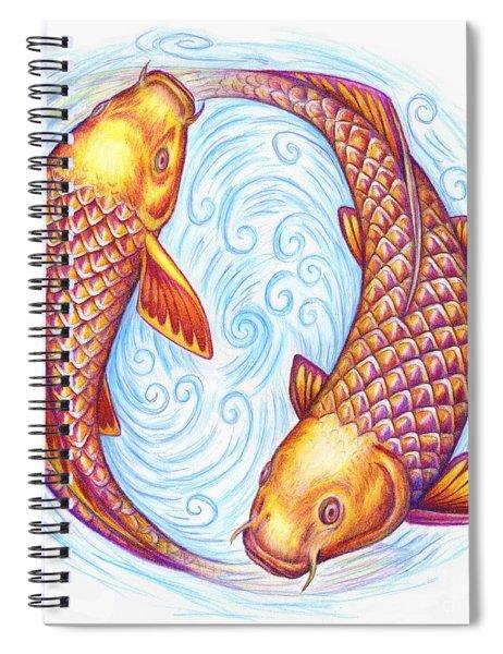 Pisces Spiral Notebook