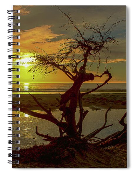 Pismo Sunset Spiral Notebook