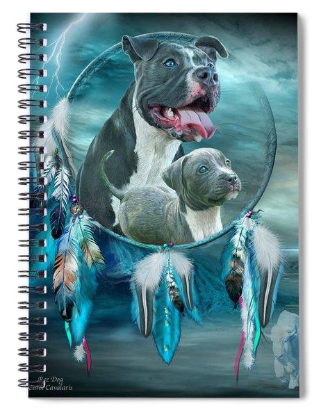 Pit Bulls - Rez Dog Spiral Notebook