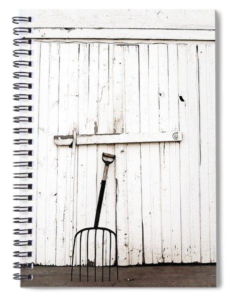 Pitch Fork Spiral Notebook