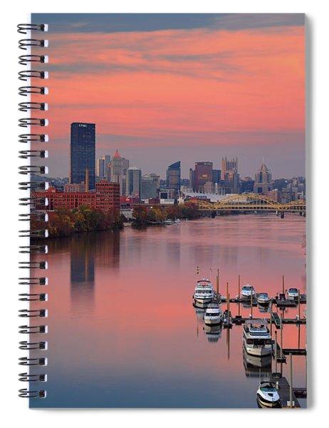 Pittsburgh 31st Street Bridge  Spiral Notebook