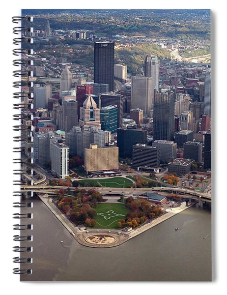 Pittsburgh 8 In Color  Spiral Notebook
