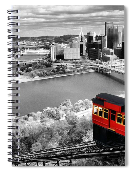Pittsburgh From The Incline Spiral Notebook