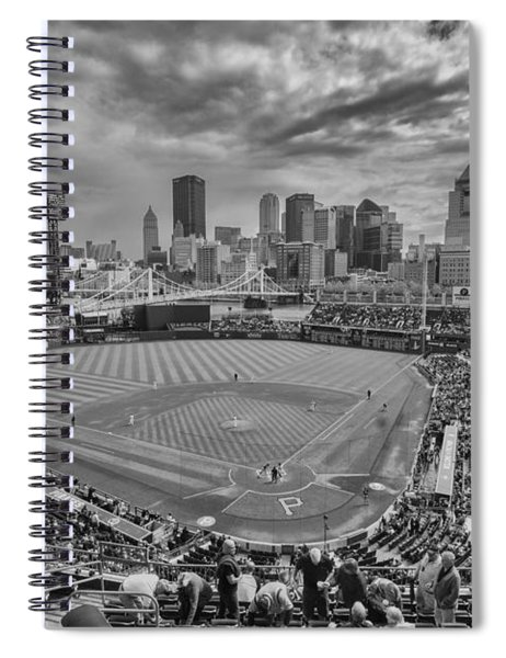 Pittsburgh Pirates Pnc Park Bw X1 Spiral Notebook