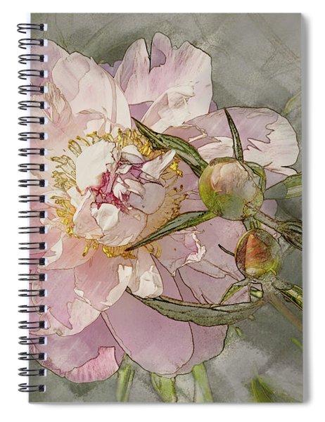 Pivoine Spiral Notebook