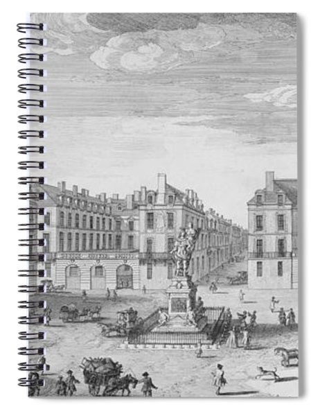 Place Des Victoires Spiral Notebook