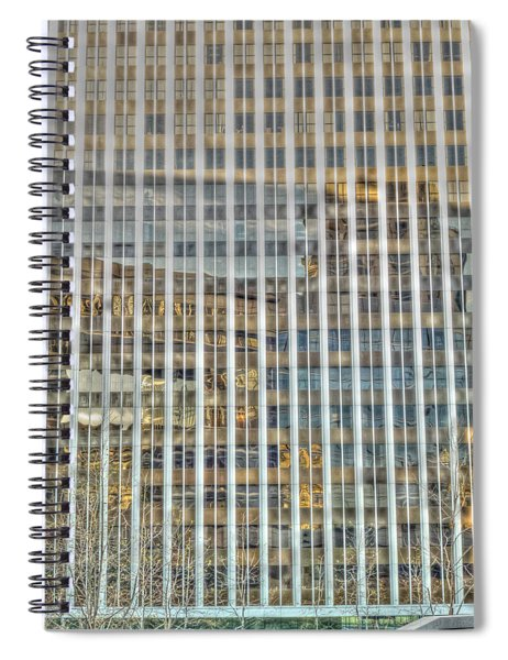 Plaid Light In La Spiral Notebook