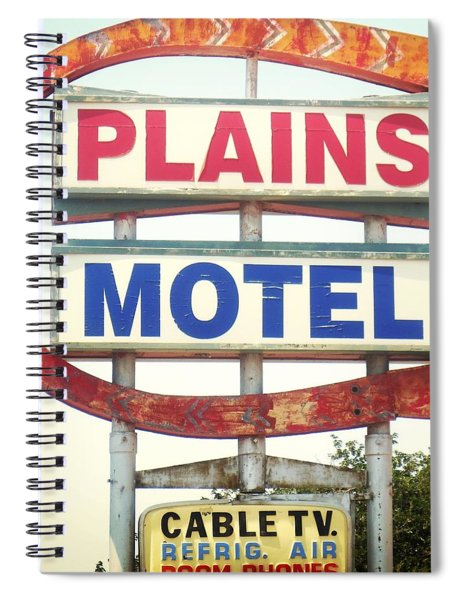 Plains Motel Spiral Notebook