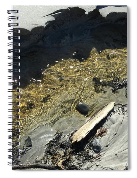 Planet Beach Spiral Notebook