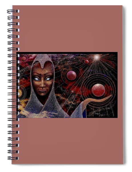 Planet  Creator Spiral Notebook