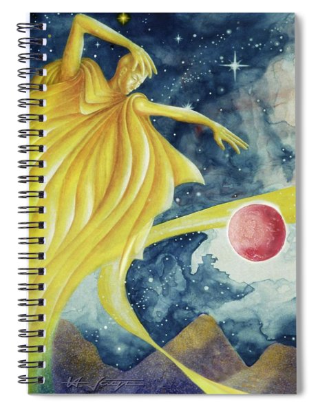 Planet  Dreaming Spiral Notebook