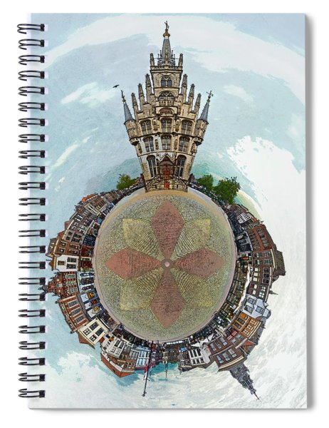 Planet Gouda Spiral Notebook