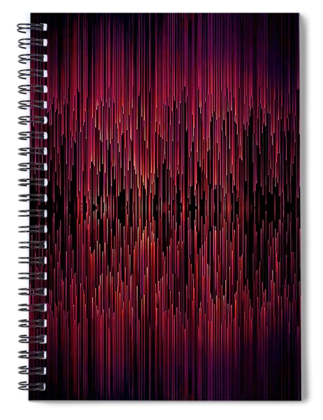 Planet Pixel Carnival Dreams Spiral Notebook