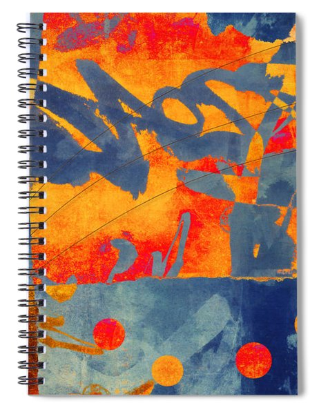 Planetary Celebration Spiral Notebook