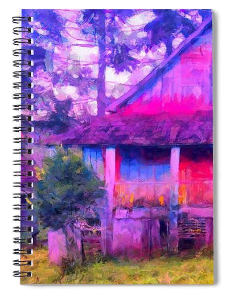 Plank Homes Spiral Notebook