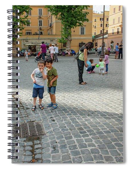 Plans Spiral Notebook
