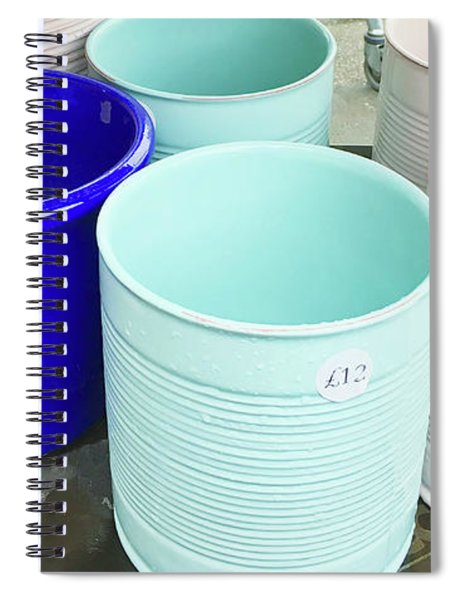 Plant Containers Spiral Notebook