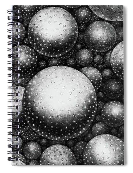 Plate Xxxi From The Original Theory Of The Universe By Thomas Wright  Spiral Notebook